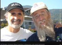Morgan and rabbi