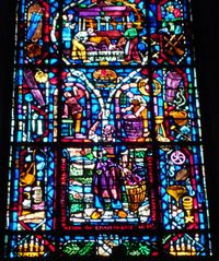 Champagne Window in Notre Dame du Reims