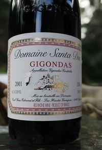 2001 Santa Duc Gigondas